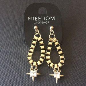 Topshop earring Freedom